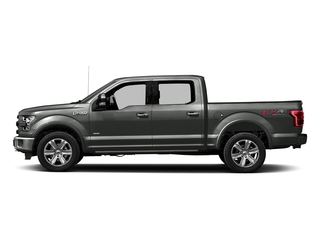 Magnetic Metallic 2017 Ford F-150 Pictures F-150 Crew Cab Platinum 2WD photos side view