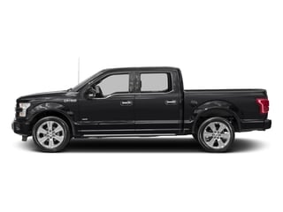 Shadow Black 2017 Ford F-150 Pictures F-150 Crew Cab Limited EcoBoost 2WD photos side view