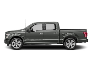 Magnetic Metallic 2017 Ford F-150 Pictures F-150 Crew Cab Limited EcoBoost 2WD photos side view