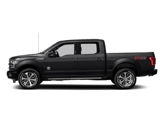 Shadow Black 2017 Ford F-150 Pictures F-150 Crew Cab King Ranch 4WD photos side view