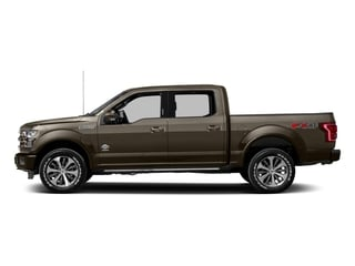 Caribou Metallic 2017 Ford F-150 Pictures F-150 Crew Cab King Ranch 4WD photos side view
