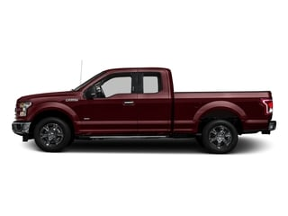 Bronze Fire Metallic 2017 Ford F-150 Pictures F-150 Supercab XLT 4WD photos side view