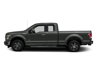 Magnetic Metallic 2017 Ford F-150 Pictures F-150 Supercab XLT 4WD photos side view