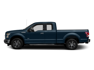 Blue Jeans Metallic 2017 Ford F-150 Pictures F-150 Supercab XLT 4WD photos side view