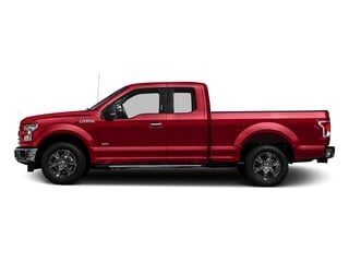 Race Red 2017 Ford F-150 Pictures F-150 Supercab XLT 4WD photos side view