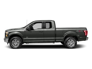 Magnetic Metallic 2017 Ford F-150 Pictures F-150 Supercab Lariat 2WD photos side view