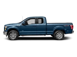Blue Jeans Metallic 2017 Ford F-150 Pictures F-150 Supercab Lariat 2WD photos side view