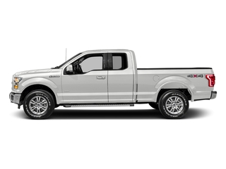 White Platinum Metallic Tri-Coat 2017 Ford F-150 Pictures F-150 Supercab Lariat 2WD photos side view