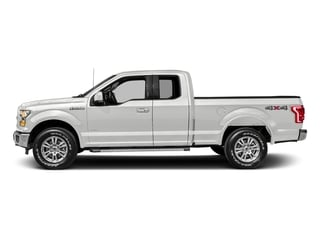Oxford White 2017 Ford F-150 Pictures F-150 Supercab Lariat 2WD photos side view