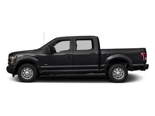 Shadow Black 2017 Ford F-150 Pictures F-150 Crew Cab XL 2WD photos side view