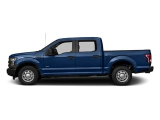Lightning Blue 2017 Ford F-150 Pictures F-150 Crew Cab XL 2WD photos side view