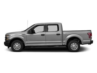 Ingot Silver Metallic 2017 Ford F-150 Pictures F-150 Crew Cab XL 2WD photos side view
