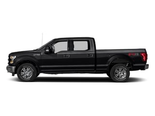 Shadow Black 2017 Ford F-150 Pictures F-150 Crew Cab Lariat 4WD photos side view
