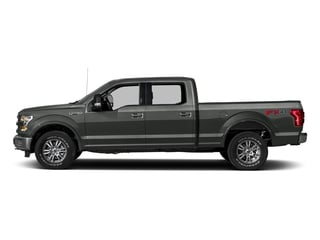 Magnetic Metallic 2017 Ford F-150 Pictures F-150 Crew Cab Lariat 4WD photos side view