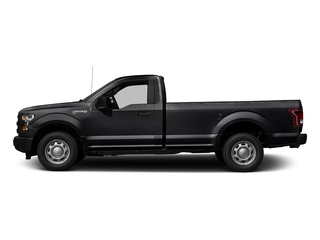 Shadow Black 2017 Ford F-150 Pictures F-150 Regular Cab XL 4WD photos side view