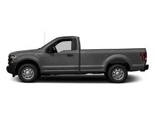 Magnetic Metallic 2017 Ford F-150 Pictures F-150 Regular Cab XL 4WD photos side view
