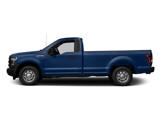 Lightning Blue 2017 Ford F-150 Pictures F-150 Regular Cab XL 4WD photos side view