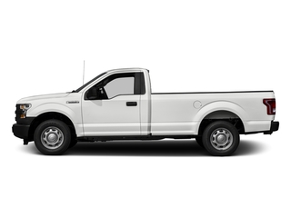 Oxford White 2017 Ford F-150 Pictures F-150 Regular Cab XL 4WD photos side view