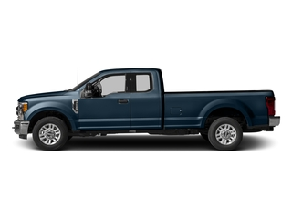 Blue Jeans Metallic 2017 Ford Super Duty F-350 SRW Pictures Super Duty F-350 SRW Supercab XLT 2WD photos side view