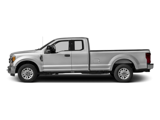 Ingot Silver Metallic 2017 Ford Super Duty F-350 SRW Pictures Super Duty F-350 SRW Supercab XLT 2WD photos side view