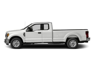 Oxford White 2017 Ford Super Duty F-250 SRW Pictures Super Duty F-250 SRW Supercab XLT 2WD photos side view