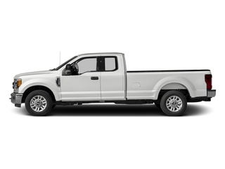 Oxford White 2017 Ford Super Duty F-350 SRW Pictures Super Duty F-350 SRW Supercab XLT 2WD photos side view