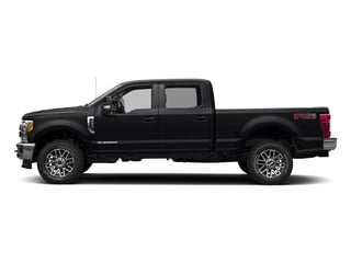 Shadow Black 2017 Ford Super Duty F-250 SRW Pictures Super Duty F-250 SRW Crew Cab Lariat 4WD photos side view