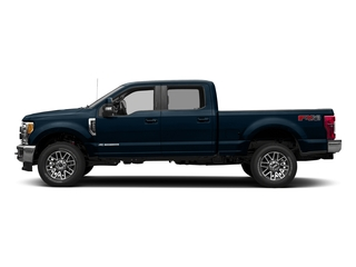 Blue Jeans Metallic 2017 Ford Super Duty F-250 SRW Pictures Super Duty F-250 SRW Crew Cab Lariat 4WD photos side view