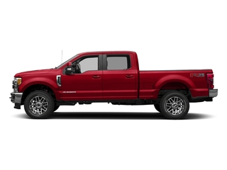 Race Red 2017 Ford Super Duty F-250 SRW Pictures Super Duty F-250 SRW Crew Cab Lariat 4WD photos side view
