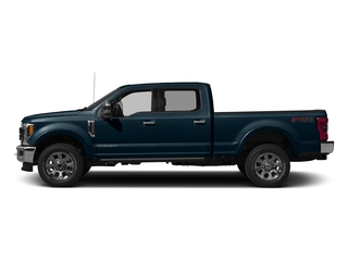 Blue Jeans Metallic 2017 Ford Super Duty F-250 SRW Pictures Super Duty F-250 SRW Crew Cab King Ranch 4WD photos side view