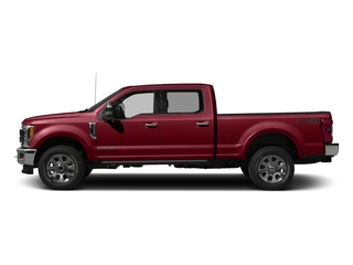 Ruby Red Metallic Tinted Clearcoat 2017 Ford Super Duty F-250 SRW Pictures Super Duty F-250 SRW Crew Cab King Ranch 4WD photos side view