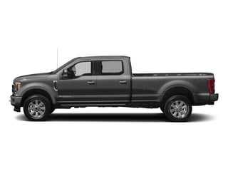Magnetic Metallic 2017 Ford Super Duty F-250 SRW Pictures Super Duty F-250 SRW Crew Cab Platinum 4WD photos side view
