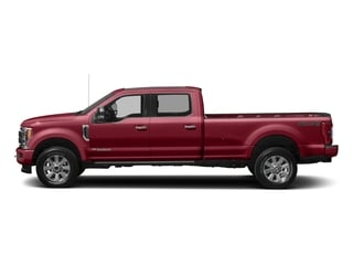 Ruby Red Metallic Tinted Clearcoat 2017 Ford Super Duty F-250 SRW Pictures Super Duty F-250 SRW Crew Cab Platinum 4WD photos side view