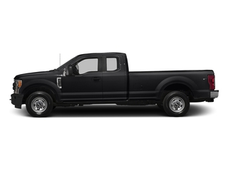 Shadow Black 2017 Ford Super Duty F-250 SRW Pictures Super Duty F-250 SRW Supercab XL 4WD photos side view