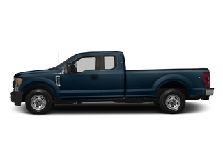 Blue Jeans Metallic 2017 Ford Super Duty F-250 SRW Pictures Super Duty F-250 SRW Supercab XL 4WD photos side view