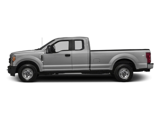 Ingot Silver Metallic 2017 Ford Super Duty F-350 SRW Pictures Super Duty F-350 SRW Supercab XL 4WD photos side view