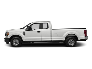 Oxford White 2017 Ford Super Duty F-250 SRW Pictures Super Duty F-250 SRW Supercab XL 4WD photos side view