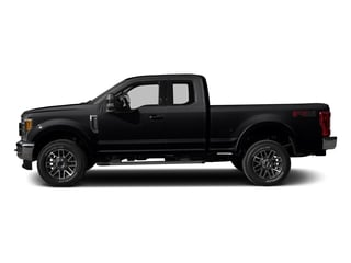 Shadow Black 2017 Ford Super Duty F-250 SRW Pictures Super Duty F-250 SRW Supercab Lariat 4WD photos side view
