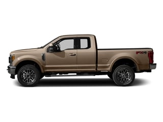 White Gold Metallic 2017 Ford Super Duty F-250 SRW Pictures Super Duty F-250 SRW Supercab Lariat 4WD photos side view