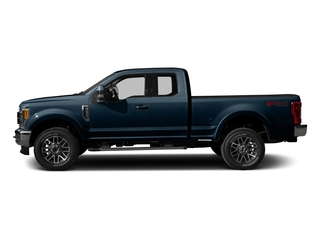 Blue Jeans Metallic 2017 Ford Super Duty F-350 SRW Pictures Super Duty F-350 SRW Supercab Lariat 2WD photos side view