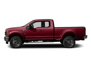Ruby Red Metallic Tinted Clearcoat 2017 Ford Super Duty F-250 SRW Pictures Super Duty F-250 SRW Supercab Lariat 4WD photos side view