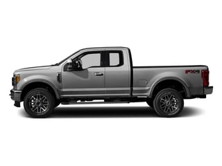 Ingot Silver Metallic 2017 Ford Super Duty F-350 SRW Pictures Super Duty F-350 SRW Supercab Lariat 2WD photos side view