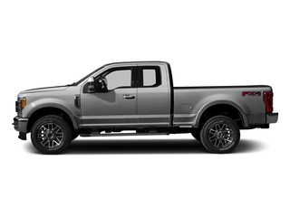 Ingot Silver Metallic 2017 Ford Super Duty F-250 SRW Pictures Super Duty F-250 SRW Supercab Lariat 4WD photos side view