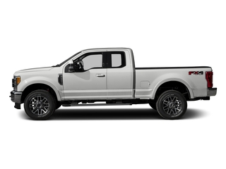Oxford White 2017 Ford Super Duty F-250 SRW Pictures Super Duty F-250 SRW Supercab Lariat 4WD photos side view