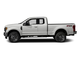 Oxford White 2017 Ford Super Duty F-350 SRW Pictures Super Duty F-350 SRW Supercab Lariat 2WD photos side view