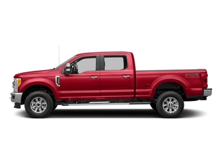 Race Red 2017 Ford Super Duty F-350 SRW Pictures Super Duty F-350 SRW Crew Cab XLT 4WD photos side view