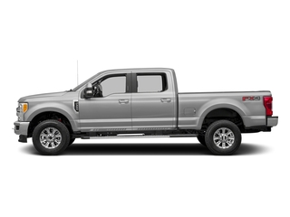 Ingot Silver Metallic 2017 Ford Super Duty F-350 SRW Pictures Super Duty F-350 SRW Crew Cab XLT 4WD photos side view