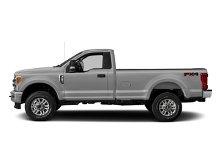 Ingot Silver Metallic 2017 Ford Super Duty F-250 SRW Pictures Super Duty F-250 SRW Regular Cab XLT 2WD photos side view