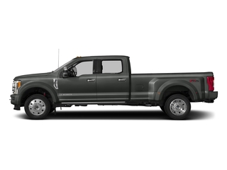 Magnetic Metallic 2017 Ford Super Duty F-450 DRW Pictures Super Duty F-450 DRW Crew Cab Platinum 4WD T-Diesel photos side view