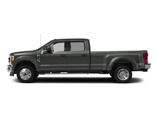 Magnetic Metallic 2017 Ford Super Duty F-450 DRW Pictures Super Duty F-450 DRW Crew Cab Lariat 4WD T-Diesel photos side view